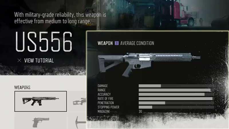 Days Gone Weapon List - Auto Rifles