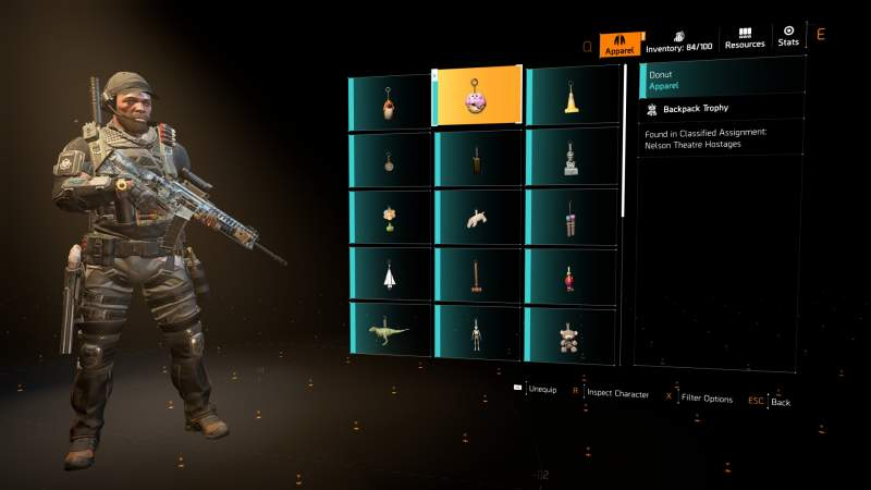 division 2 nelson theatre hostages collectibles