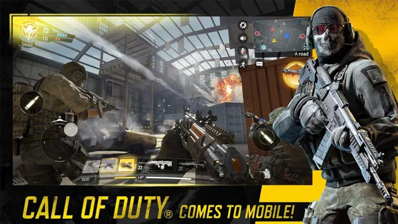 Sign-up Call Of Duty Mobile Beta