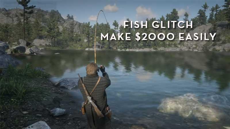RDR2 Online Fish Glitch