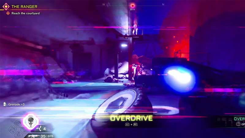 Use & Refill Overdrive In Rage 2
