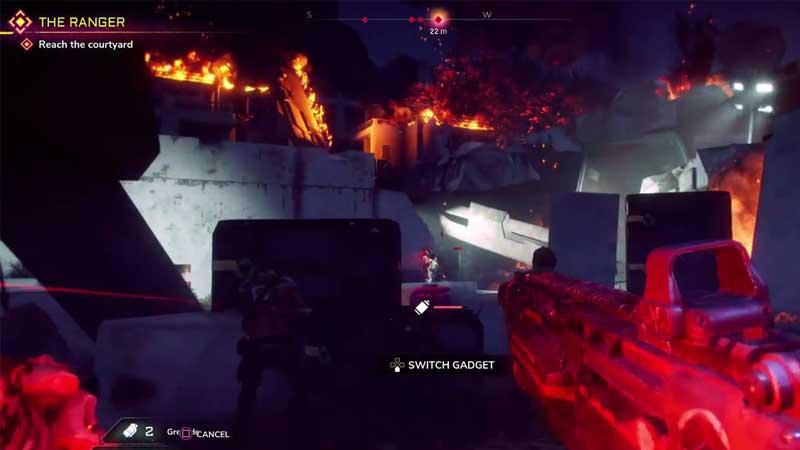 Use Grenade In Rage 2