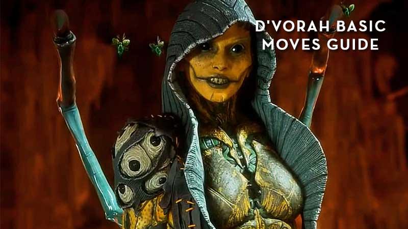 MK11 D'vorah Basic Moves torial