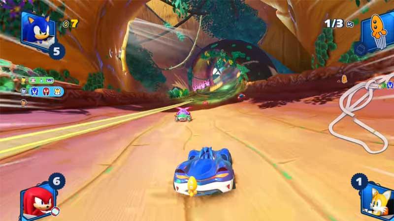 Team Sonic Racing Multiplayer