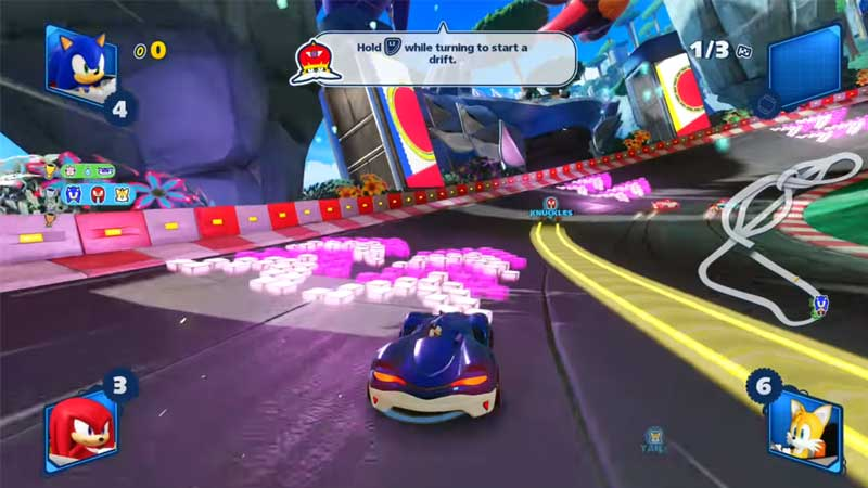 Team Sonic Racing Guide