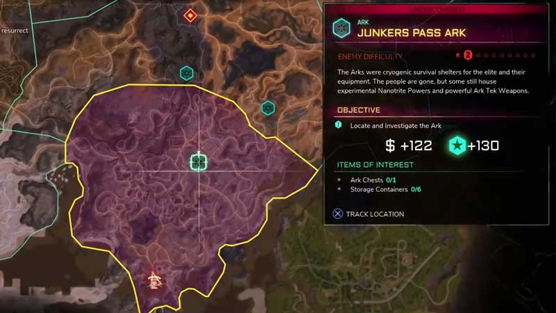 Rage 2 Junkers Park Ark Location