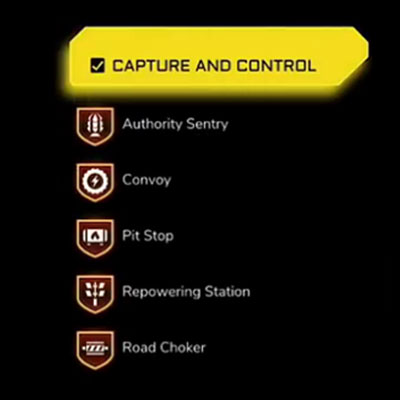 Map icons on Rage 2