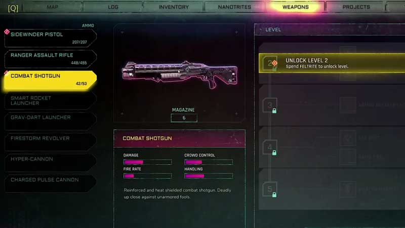 Upgrade Weapons In Rage 2