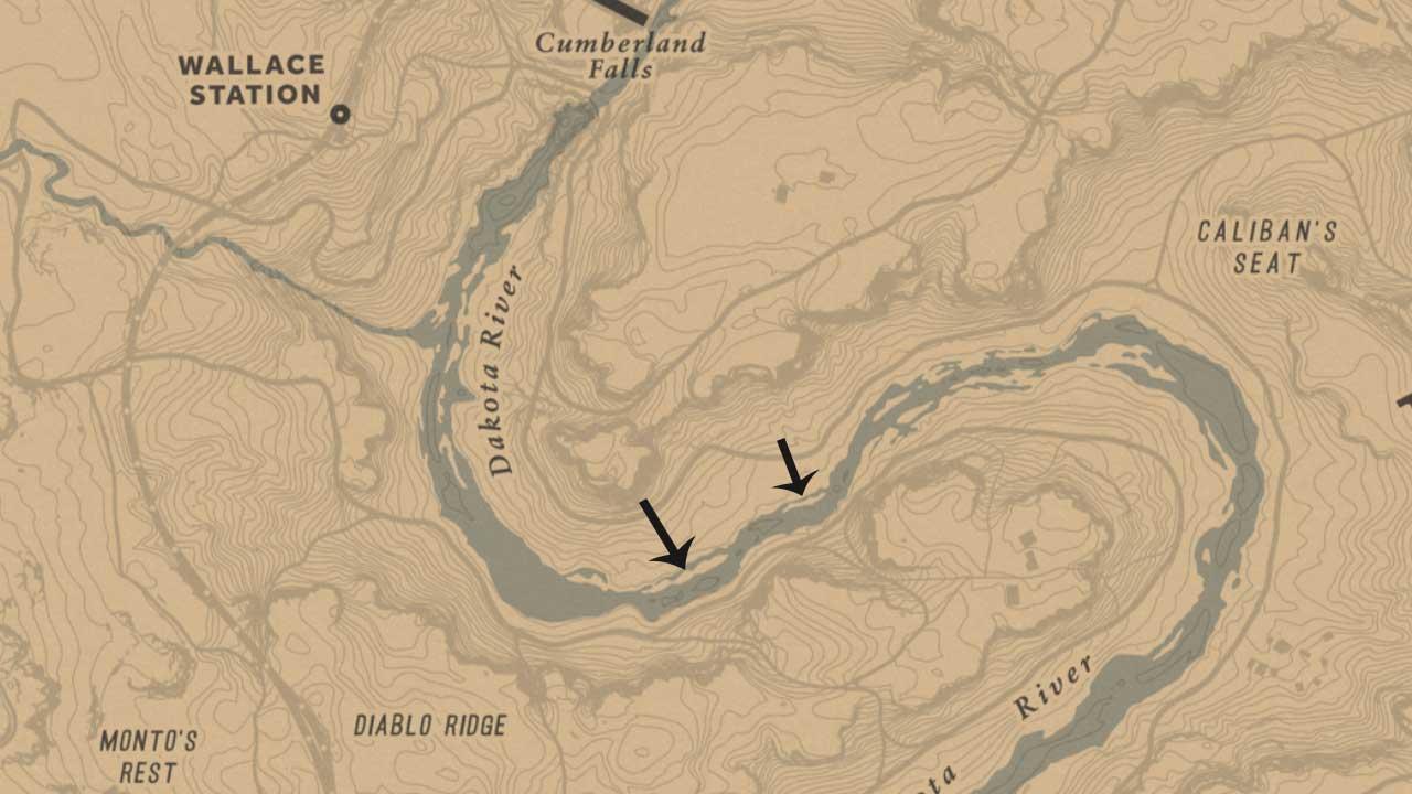 RDR2 Online Sockeye Salmon Fishing Location
