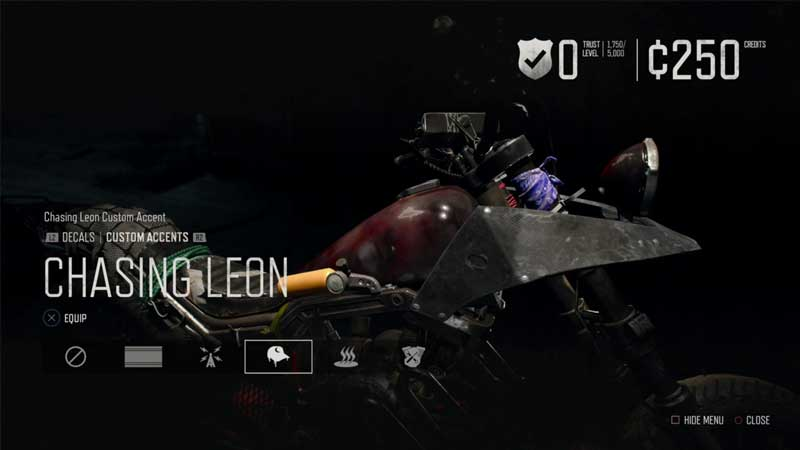 Days Gone Custom Decal Guide