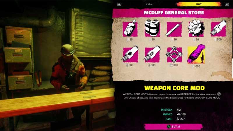 Weapon Core Mod In Rage 2