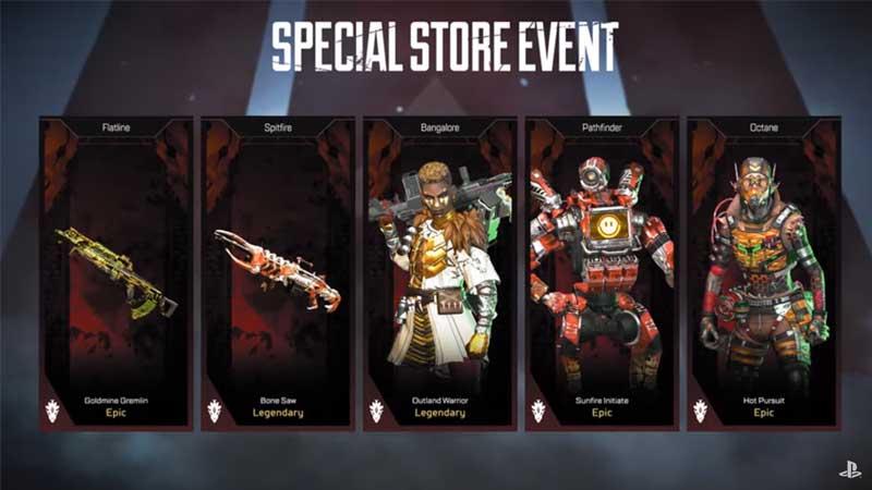 Apex Legends Legendary Hunt Event