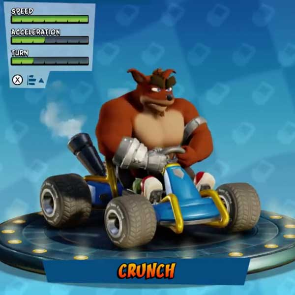 Crash Team Racing Nitro-Fueled Fastest Characters