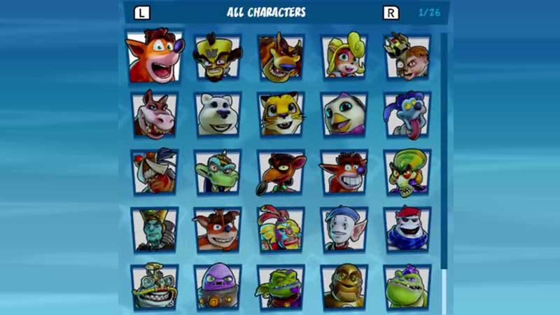 Crash Team Racing Nitro-Fueled Best Characters For Racing