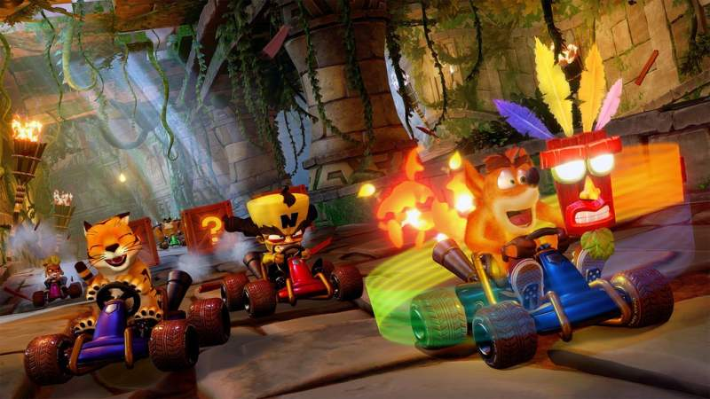 crash team racing nitro fueled tricks
