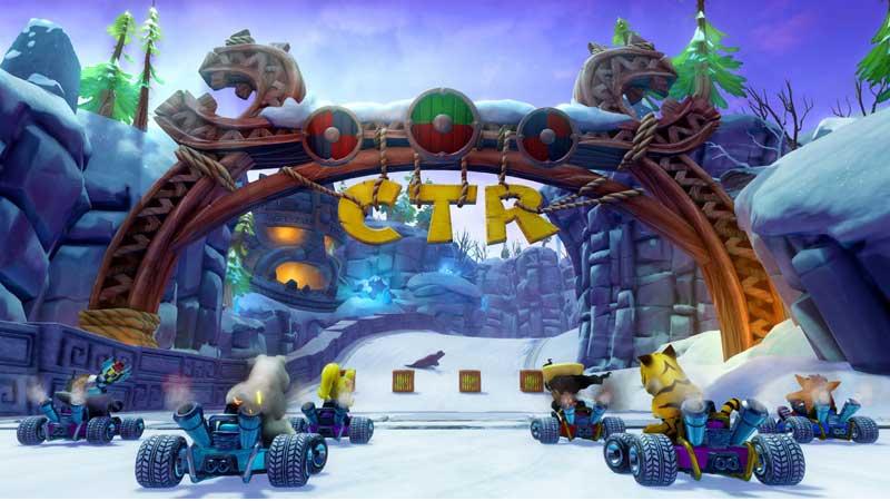 CTR Nitro-Fueled Unlock Characters