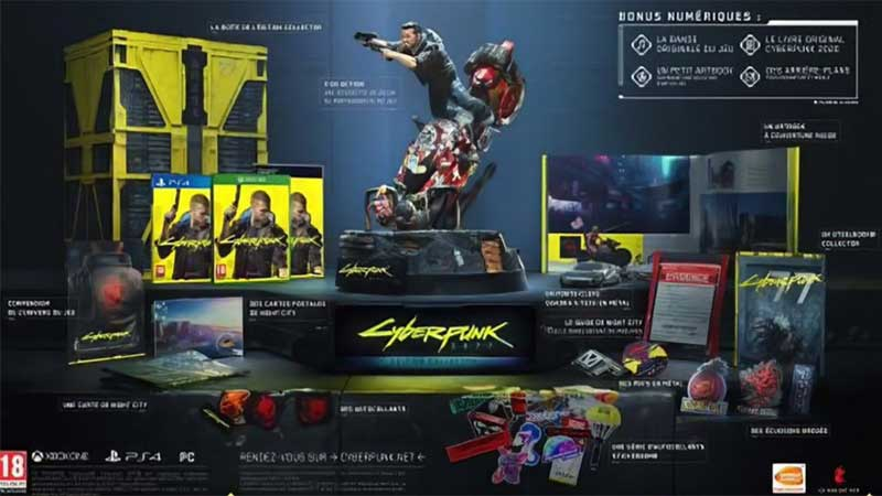Cyberpunk 2077 Collectors Edition Leaked