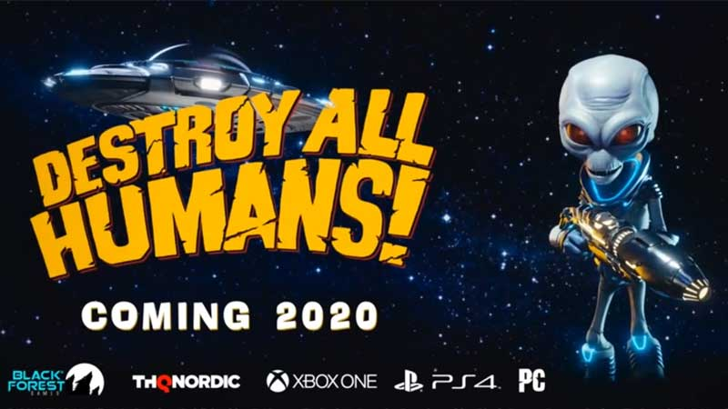 Destroy All Humans Game Switch