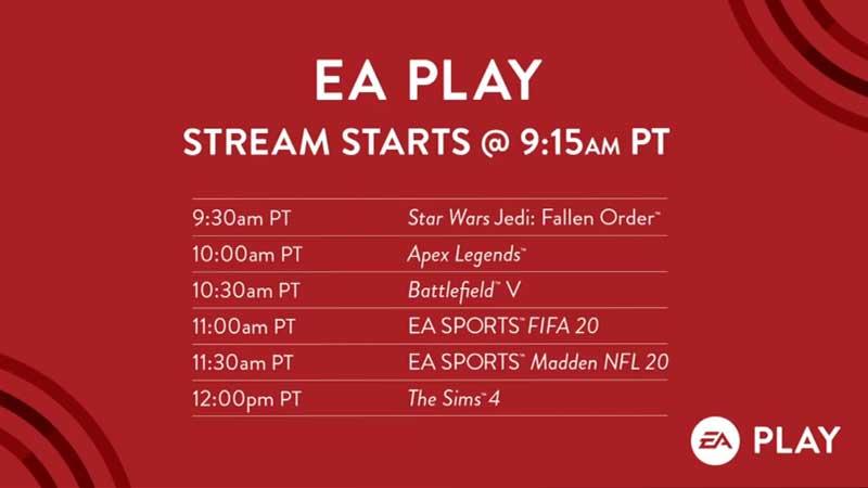 EA Play Live 2019