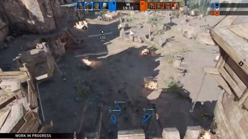 For Honor Spectator Mode