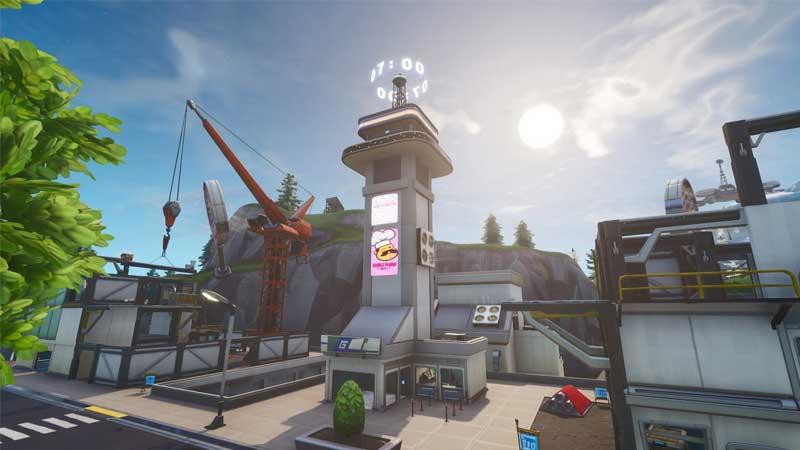 fortnite clock tower challenge