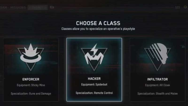 Watch Dogs Legion All Classes