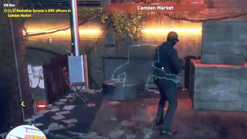 Watch Dog Legions Invisible Ability