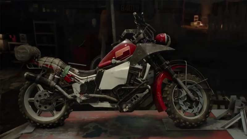 Days Gone Uncharted Free Bike Skins