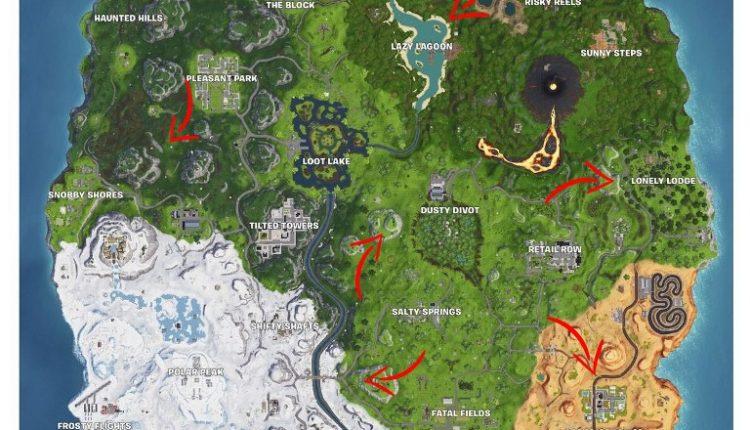 Fortnite Rubber Duck Location
