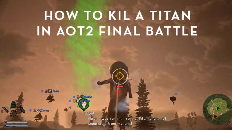 Guide on How to kill a Titan