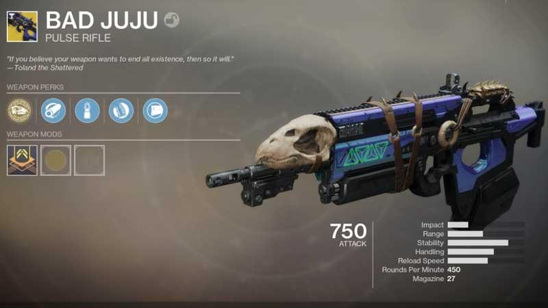 Best Weapons in Destiny 2