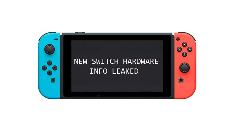 New Switch Models Leaked Specs