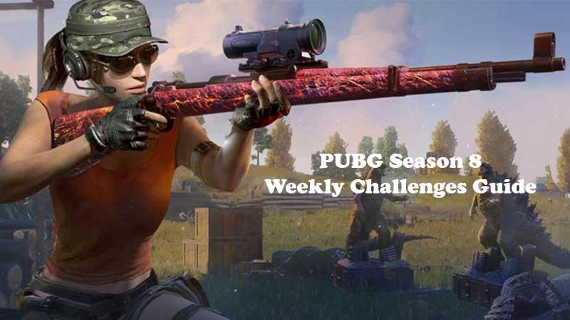 Pubg Season 8 All Weekly Challenges Details Missions Rewards