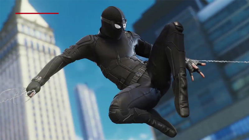 Spider-Man PS4 Far From Home Suits Screenshot