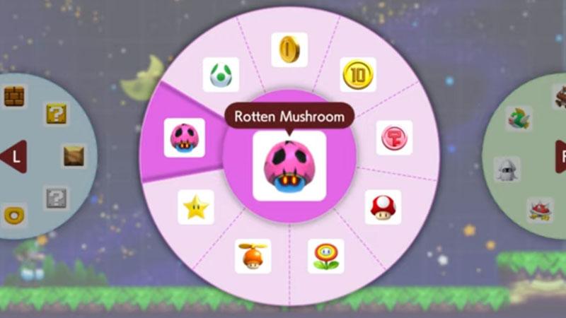 Get Poison Mushroom In Super Mario Maker 2