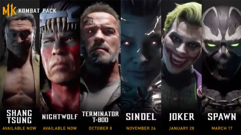 Mortal Kombat 11 Reveals The Characters Who Are About To Join The Battle