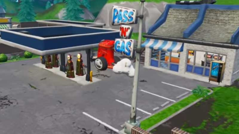 Find A Gas Station >> Where To Find Gas Station Location In Fortnite Gamer Tweak