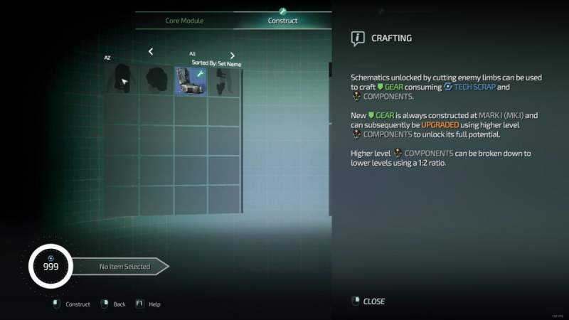 How to Craft New Gear in Surge 2