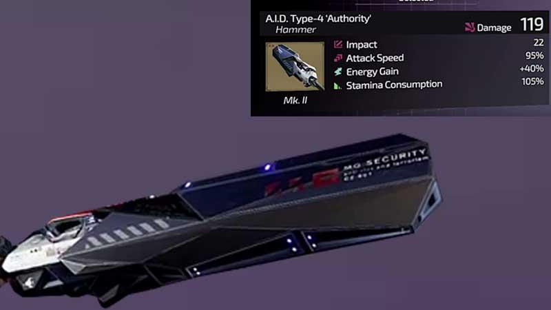 Unlock AID Type-4 Hammer
