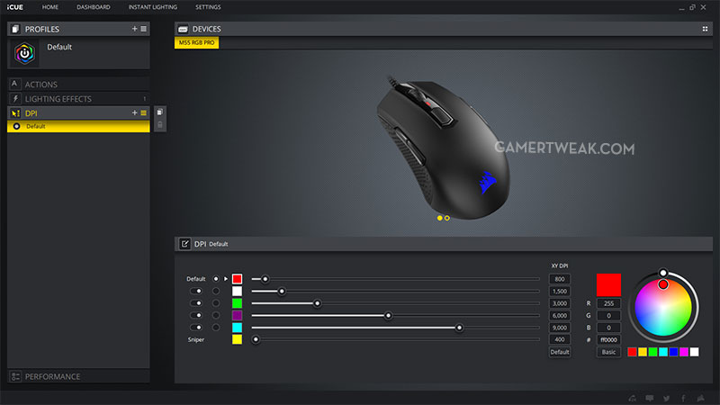Corsair M55 iCue Review