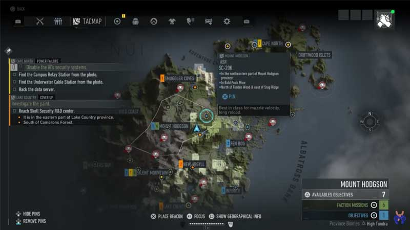 Ghost Recon Breakpoint Blueprint Location