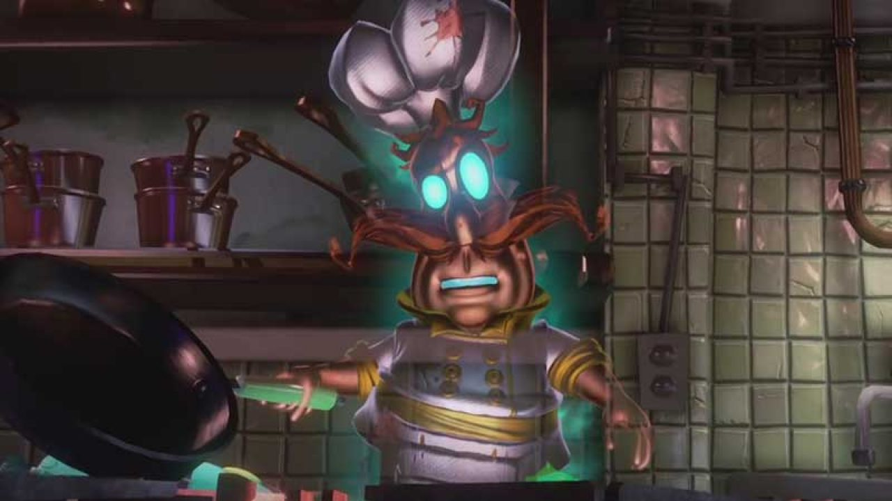 How To Defeat The Chef Ghost In Luigi S Mansion 3 Chef