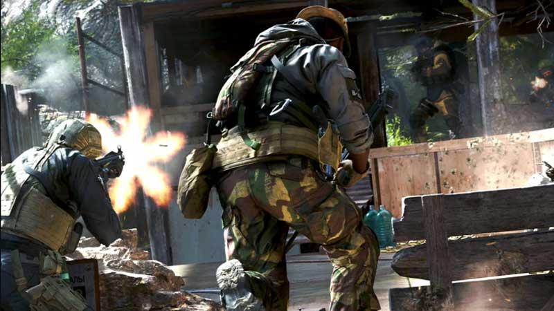 COD Modern Warfare Finishers Move