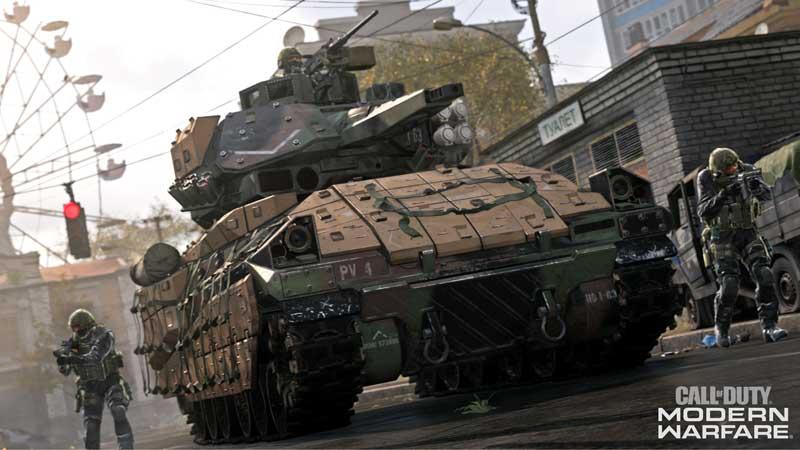 COD Modern Warfare Preload