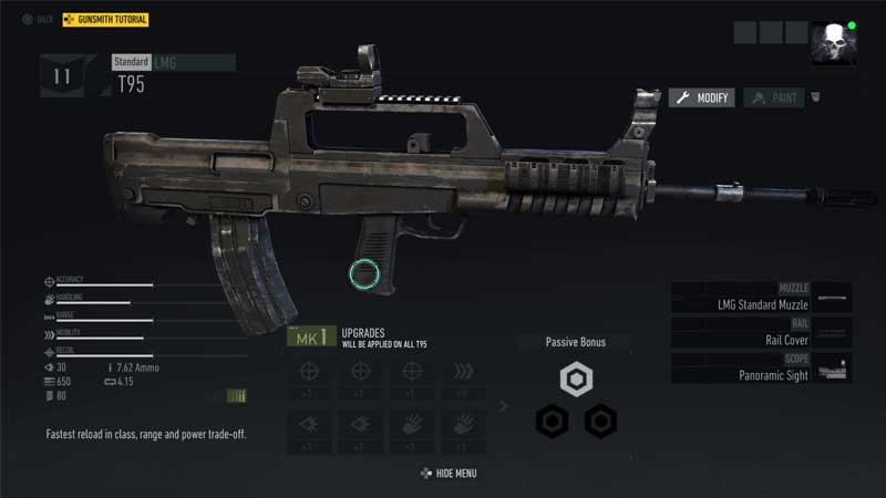 Ghost Recon Breakpoint Weapon Upgrades
