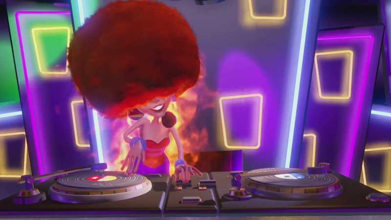 Defeat The DJ Ghost Boss
