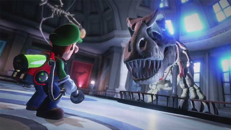 How To Defeat Dinosaur Skeleton Ghost Boss In Luigi S Mansion 3