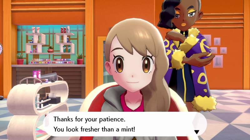 how to change hairstyle customize appearance pokemon sword shield