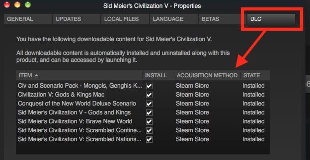 install dlc steam