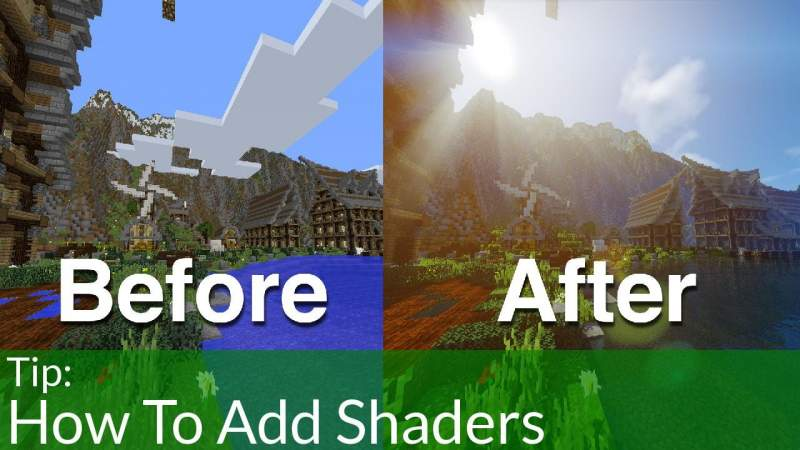 install minecraft shaders download
